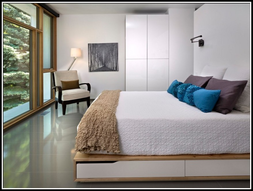 Ikea Malm Bett 180x200 Weis