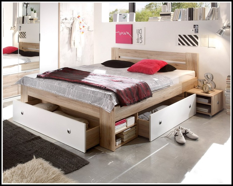 bett 140x200 weis mit schubladen download page beste. Black Bedroom Furniture Sets. Home Design Ideas