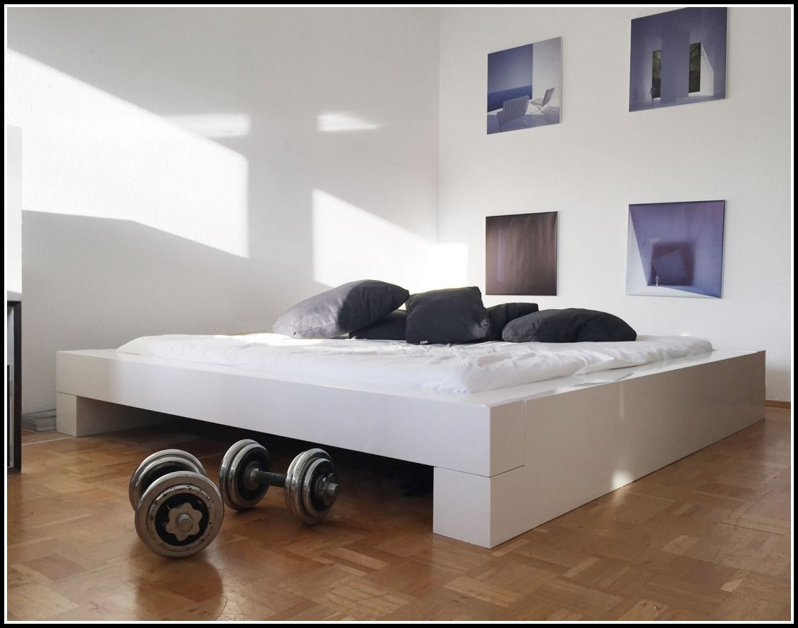bett 200 x 200 weis, bett 200x200 weis hochglanz - betten : house und dekor galerie, Design ideen
