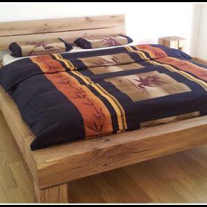 Bett Eiche Massiv Kaufen