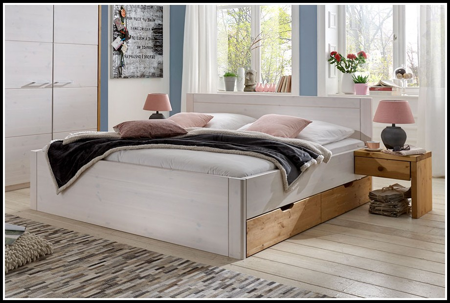 bett kiefer massiv 140x200 weis betten house und dekor galerie ko1zpgak6e. Black Bedroom Furniture Sets. Home Design Ideas