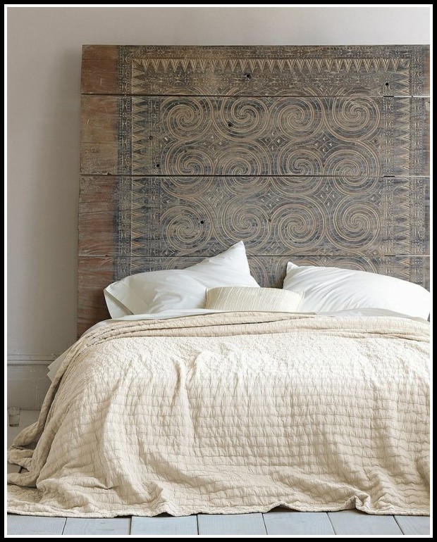 bett kopfteil gepolstert diy betten house und dekor. Black Bedroom Furniture Sets. Home Design Ideas