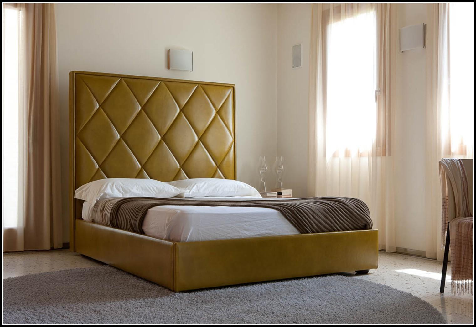 bett mit hohem kopfteil betten house und dekor galerie. Black Bedroom Furniture Sets. Home Design Ideas