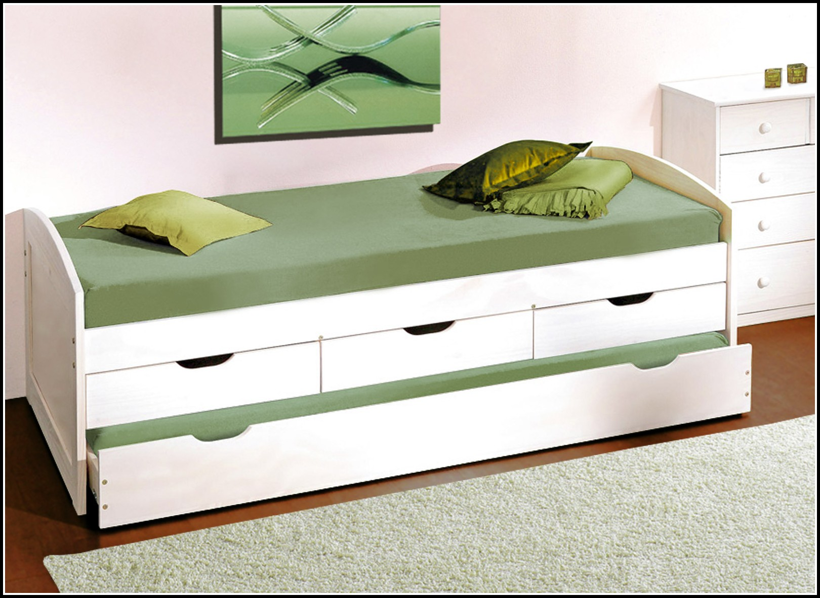 Bett mit schubladen 100x200 download page beste for Bett 100x200 mit schubladen