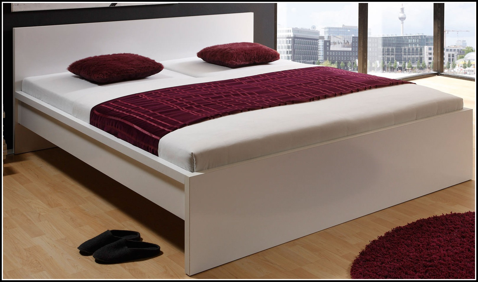 bett ohne rahmen und auflagen betten house und dekor. Black Bedroom Furniture Sets. Home Design Ideas