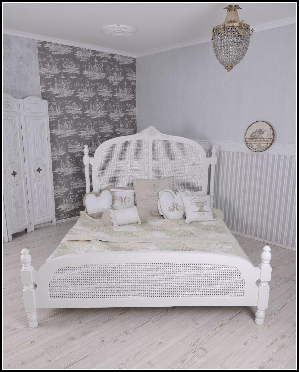 bett shabby chic betten house und dekor galerie. Black Bedroom Furniture Sets. Home Design Ideas