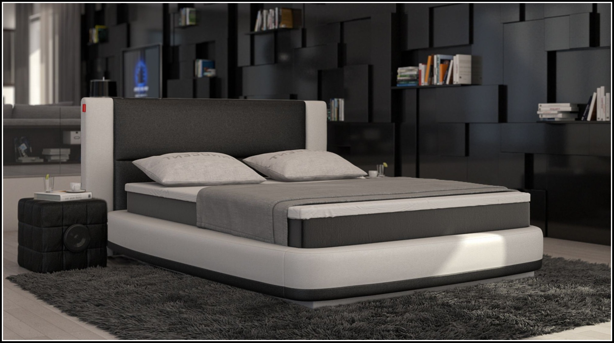 boxspring bett komplett 180x200 download page beste. Black Bedroom Furniture Sets. Home Design Ideas