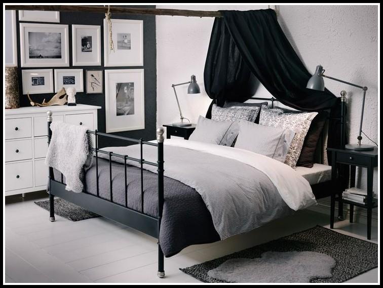 ikea bett metall grau betten house und dekor galerie. Black Bedroom Furniture Sets. Home Design Ideas