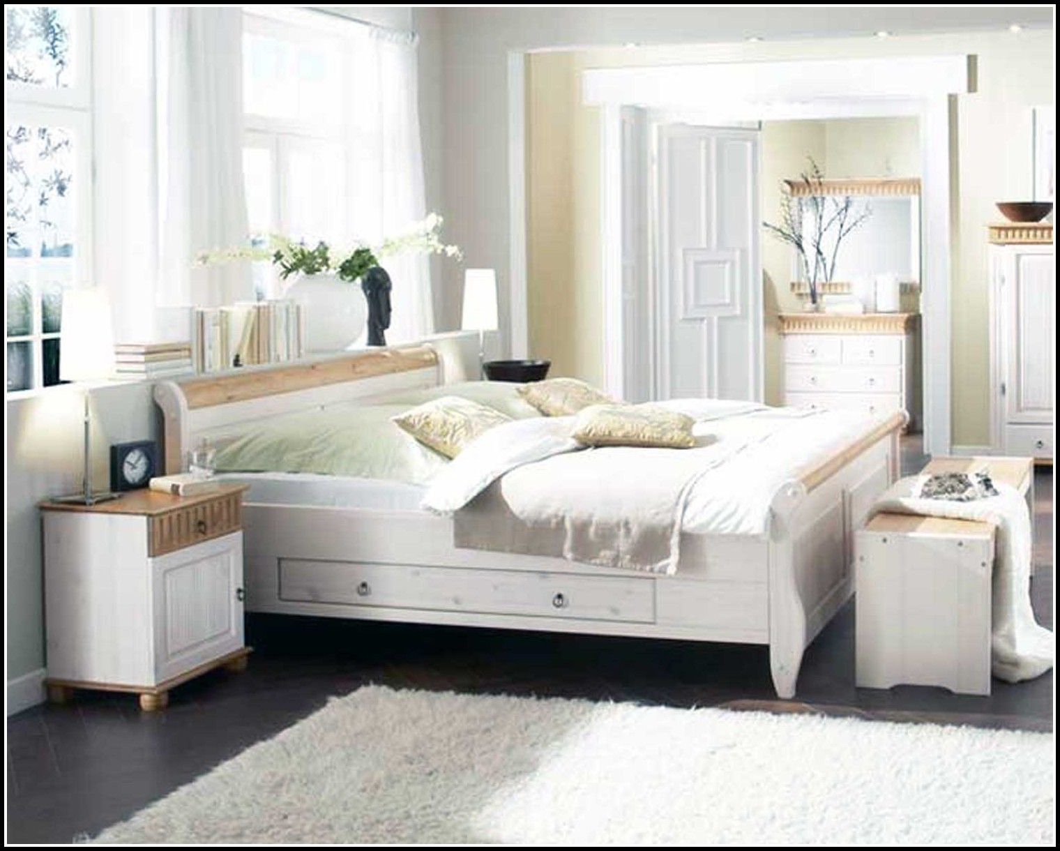ikea betten weis hemnes betten house und dekor galerie pnwydnqkbn. Black Bedroom Furniture Sets. Home Design Ideas