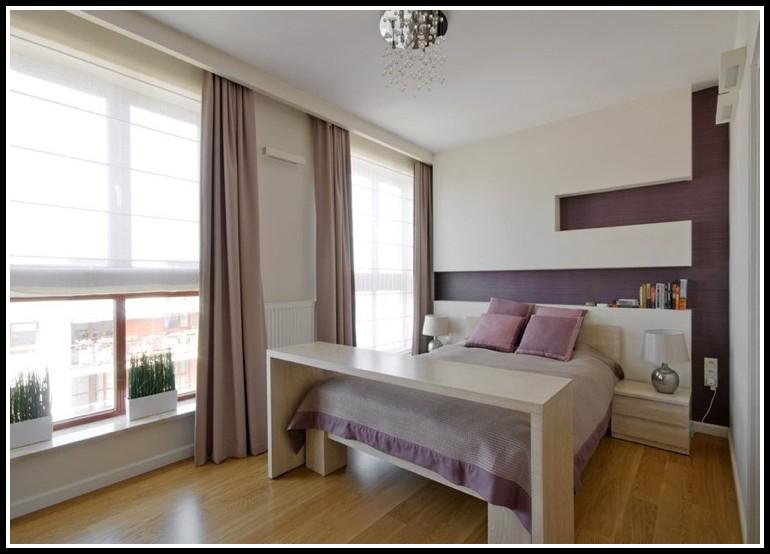 Ikea Malm Bett Tisch Weis