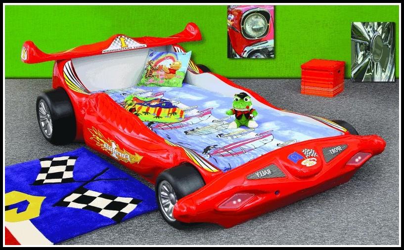 Kinder Auto Bett Bauen