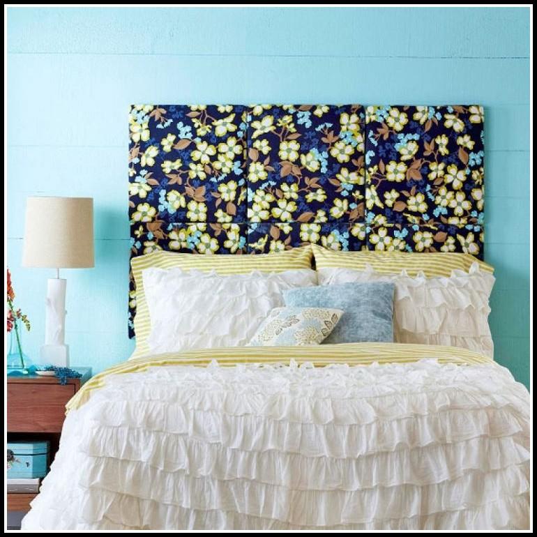 Kopfteil Bett Gepolstert Selber Machen