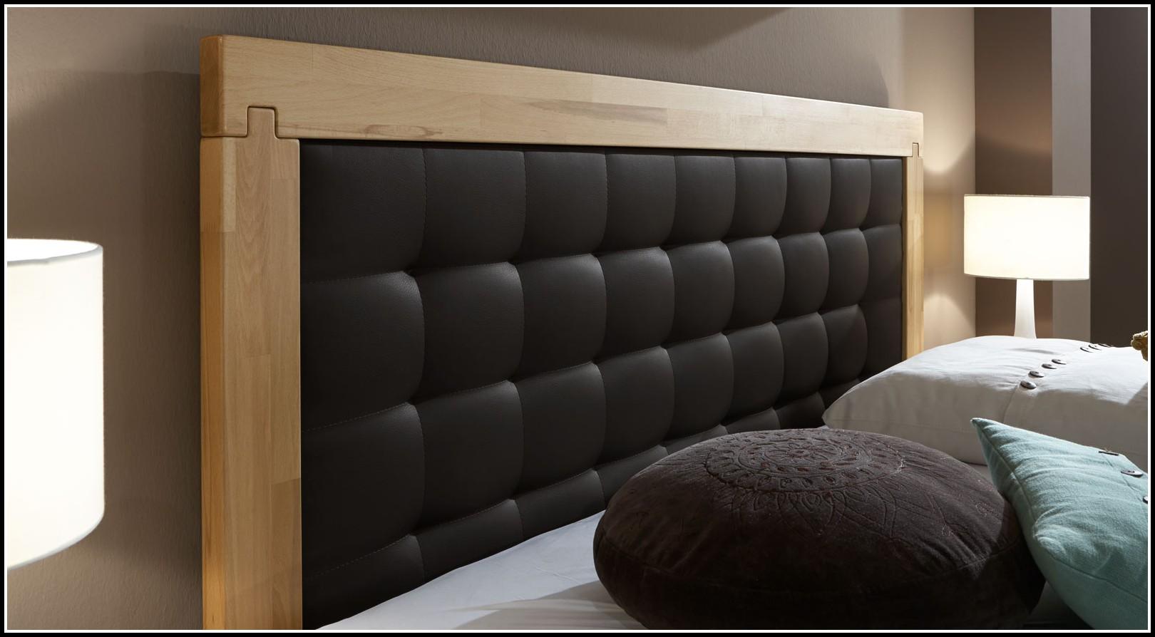 massivholz bett mit hohem kopfteil betten house und. Black Bedroom Furniture Sets. Home Design Ideas