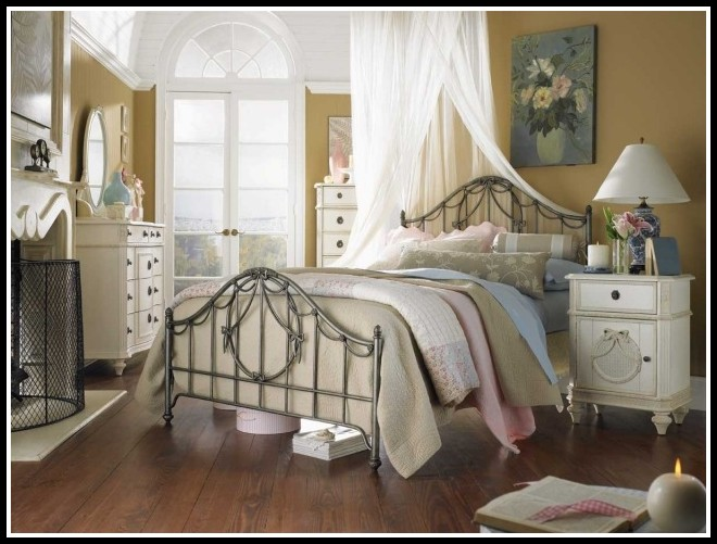 shabby chic bett betten house und dekor galerie qmkjmdvrk5. Black Bedroom Furniture Sets. Home Design Ideas