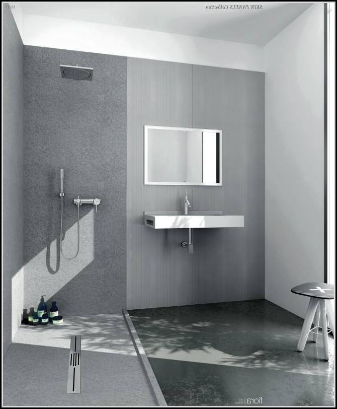 Beautiful Badezimmer Ohne Fugen Ideas - Erstaunliche Ideen ...