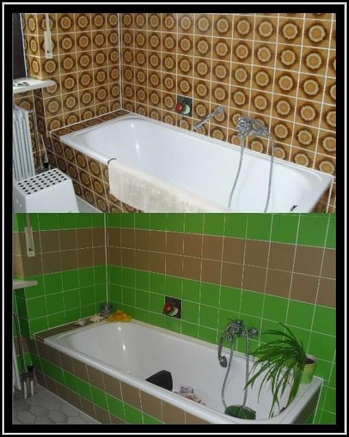 badezimmer fliesen streichen vorher nachher fliesen. Black Bedroom Furniture Sets. Home Design Ideas