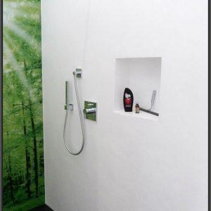 Badezimmer Ohne Fliesen An Der Wand