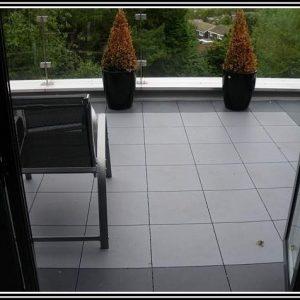 Balkon Klick Fliesen Kunststoff