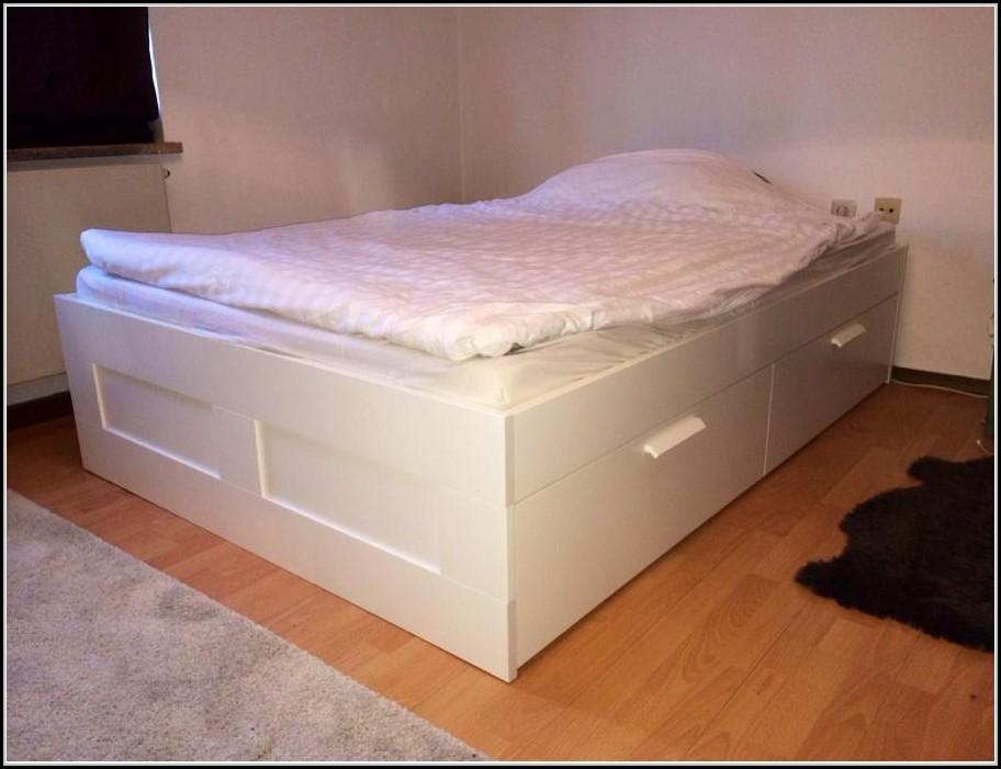 bett ikea brimnes gebraucht betten house und dekor. Black Bedroom Furniture Sets. Home Design Ideas