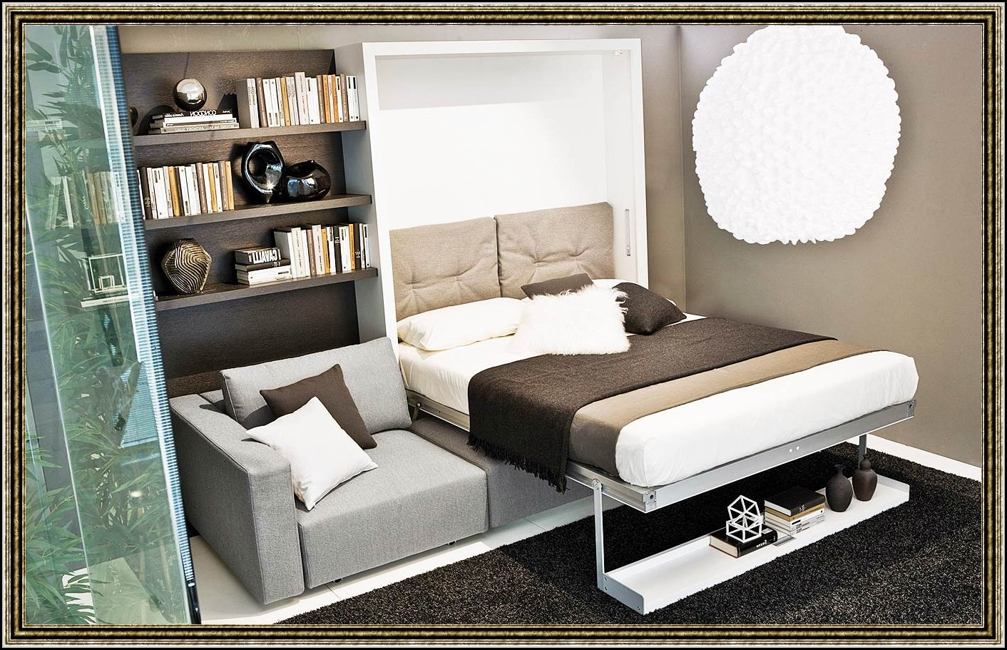 bett mit integriertem regal betten house und dekor galerie zk137y21dg. Black Bedroom Furniture Sets. Home Design Ideas