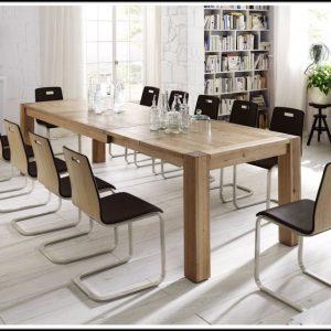 Esszimmer Tische Massivholz Ausziehbar