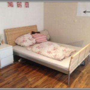 Ikea Rattan Bett Gebraucht