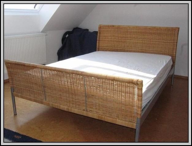 Ikea Rattan Bett
