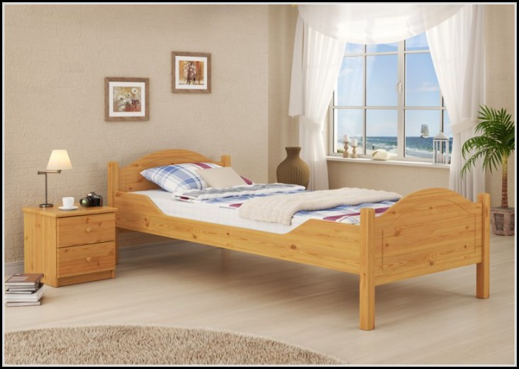 Kiefer Massiv Bett