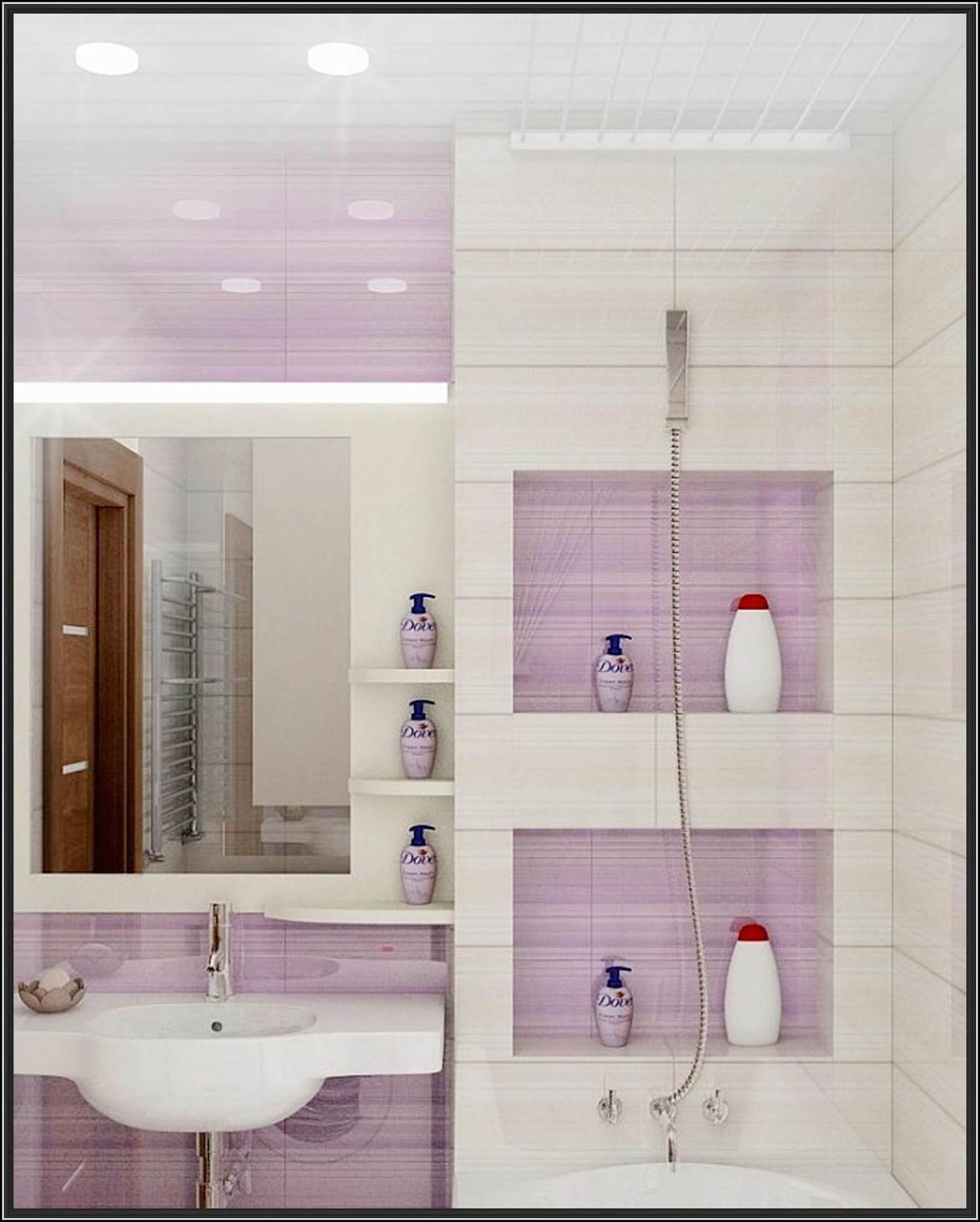 Kleines Badezimmer Fliesen Farbe