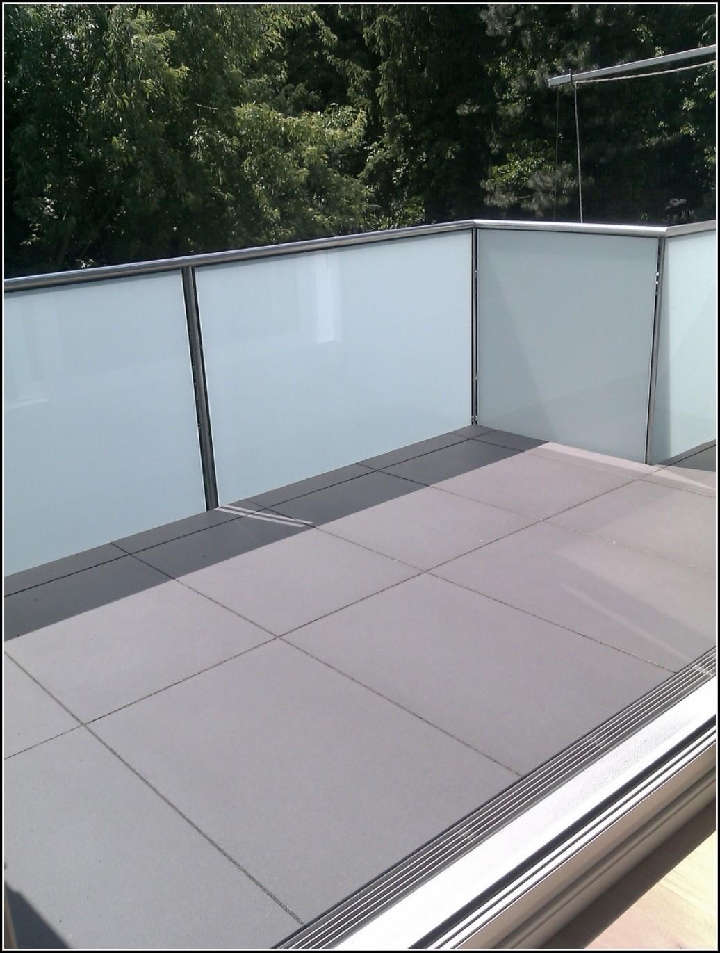 Kunststoff Fliesen Balkon