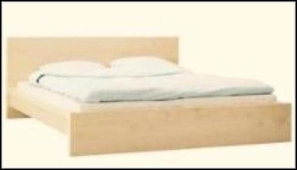 Malm Bett Birke 140x200