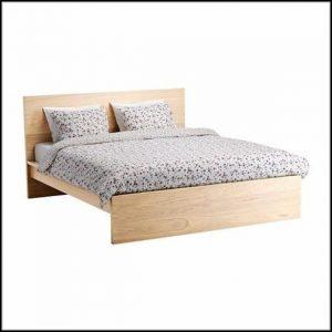 Malm Bett Birke