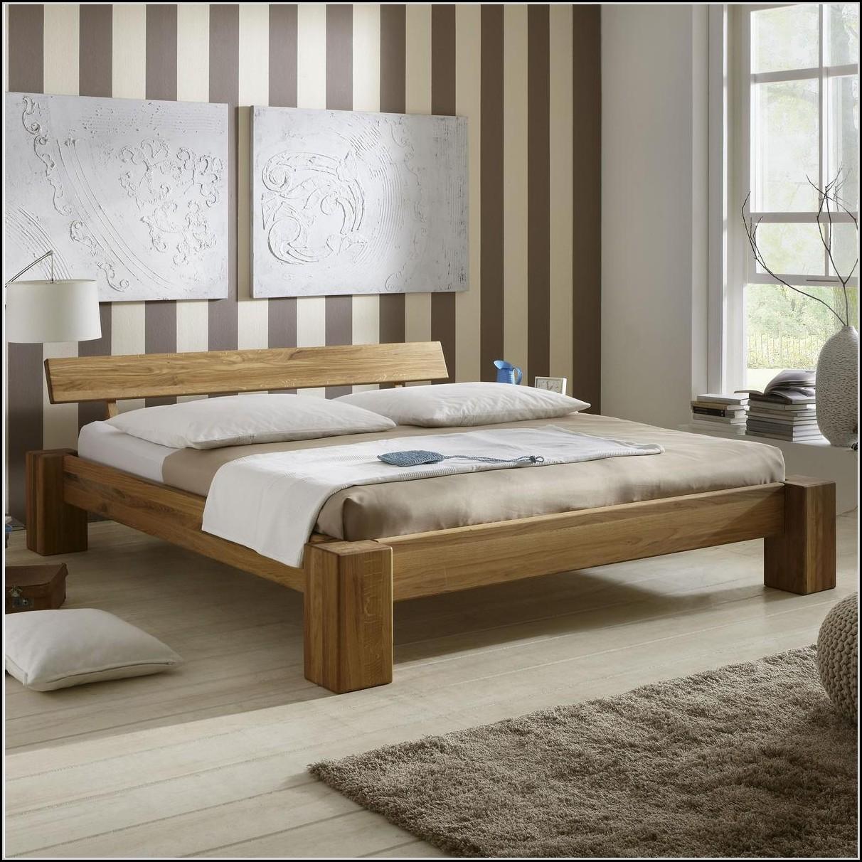 massivholz bett eiche 140x200 betten house und dekor galerie pnwy7zrrbn. Black Bedroom Furniture Sets. Home Design Ideas
