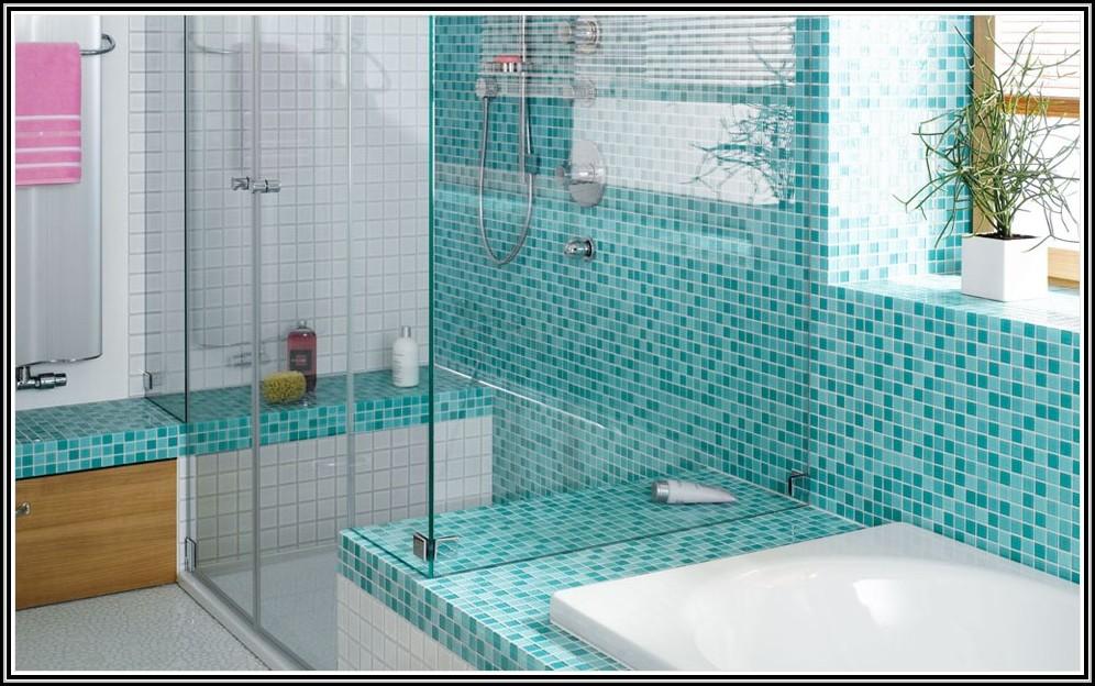 Mosaik Fliesen Verlegen Wand