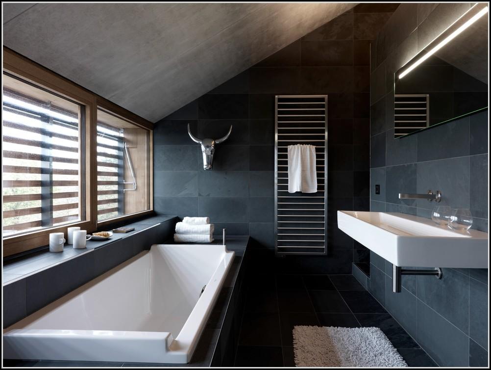 Awesome Badezimmer Fliesen Schiefer Images - Erstaunliche Ideen ...