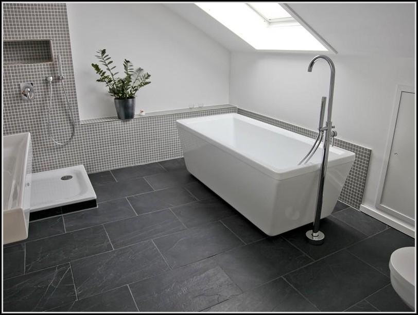 Badezimmer Boden Schiefer