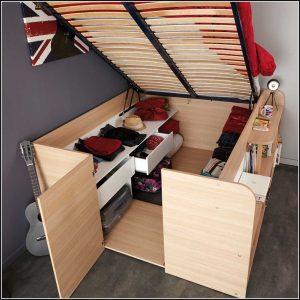 Schrank Mit Integriertem Bett