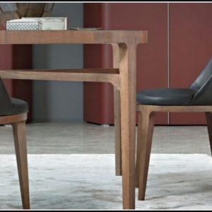 Stuhl Esszimmer Leder Holz