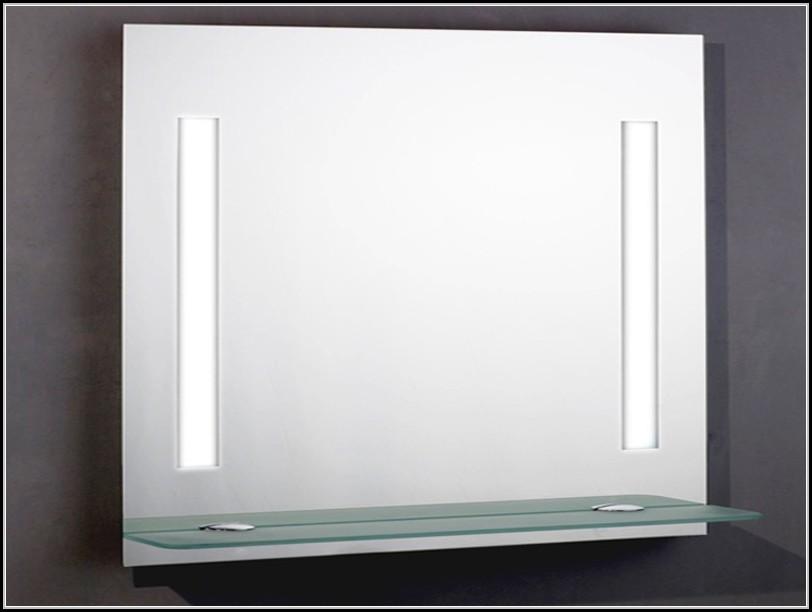 badspiegel mit ablage und beleuchtung beleuchthung. Black Bedroom Furniture Sets. Home Design Ideas