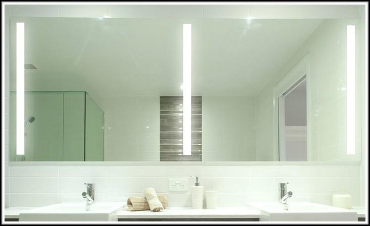 Badspiegel Mit Led Beleuchtung 120 X 60 Aluminiumrahmen