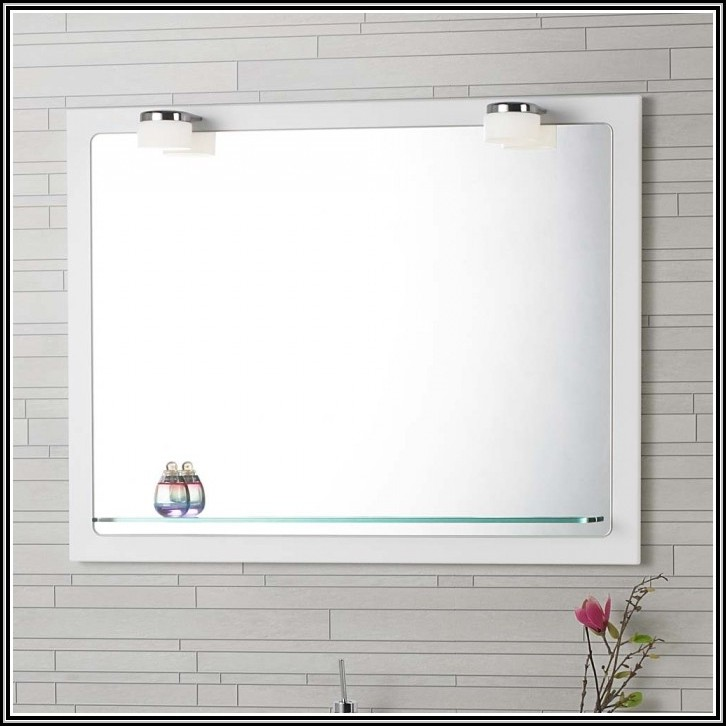 badspiegel mit led beleuchtung und ablage beleuchthung. Black Bedroom Furniture Sets. Home Design Ideas