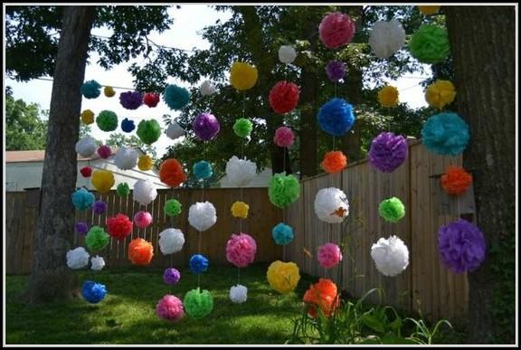 Dekoideen Gartenparty