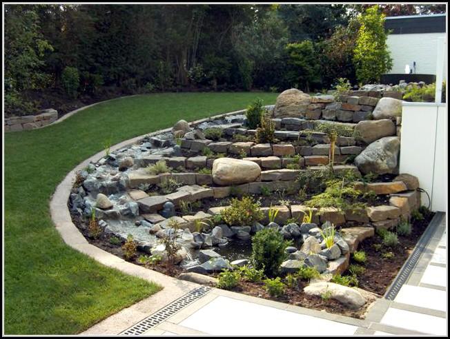 AuBergewohnlich Garten Gestalten Mit Steinen