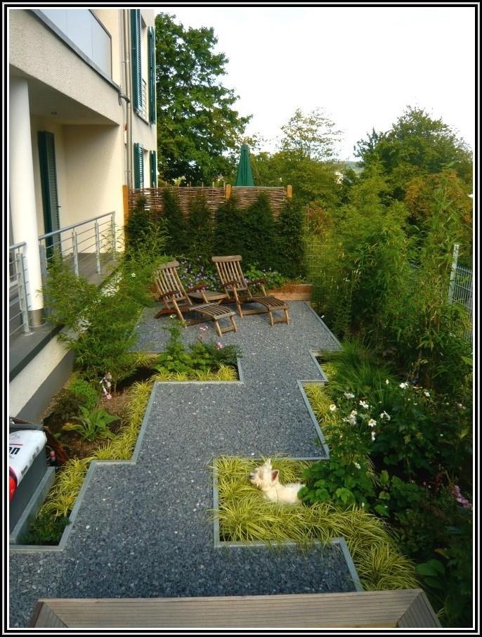 Attraktiv Gartengestaltung Kleiner Garten Sichtschutz