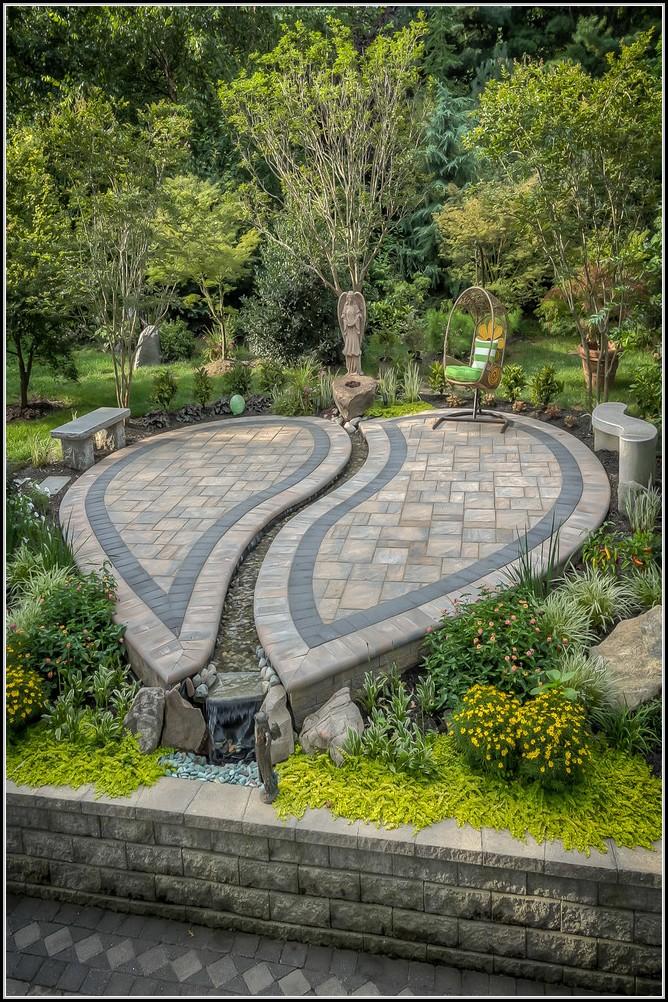 Gestalten Im Garten Mit Steinen