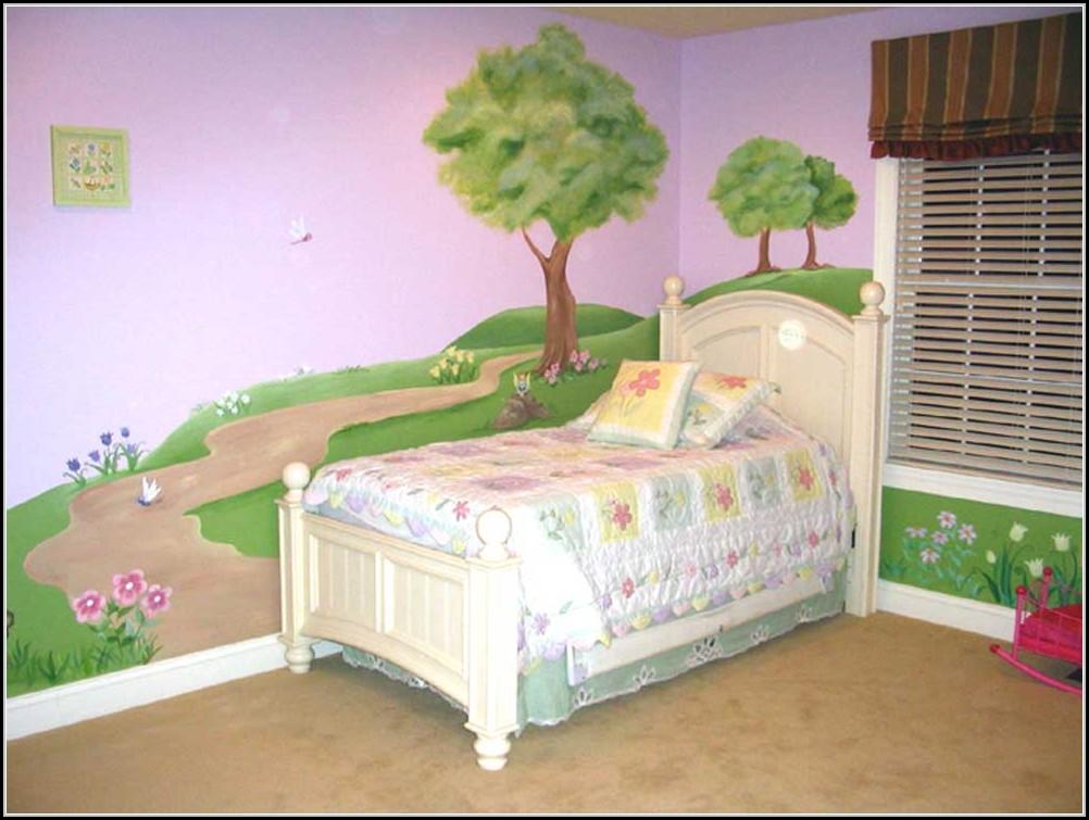 Ideen Wandgestaltung Kinderzimmer