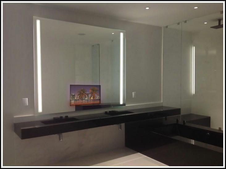Indirekte Beleuchtung Badezimmerspiegel