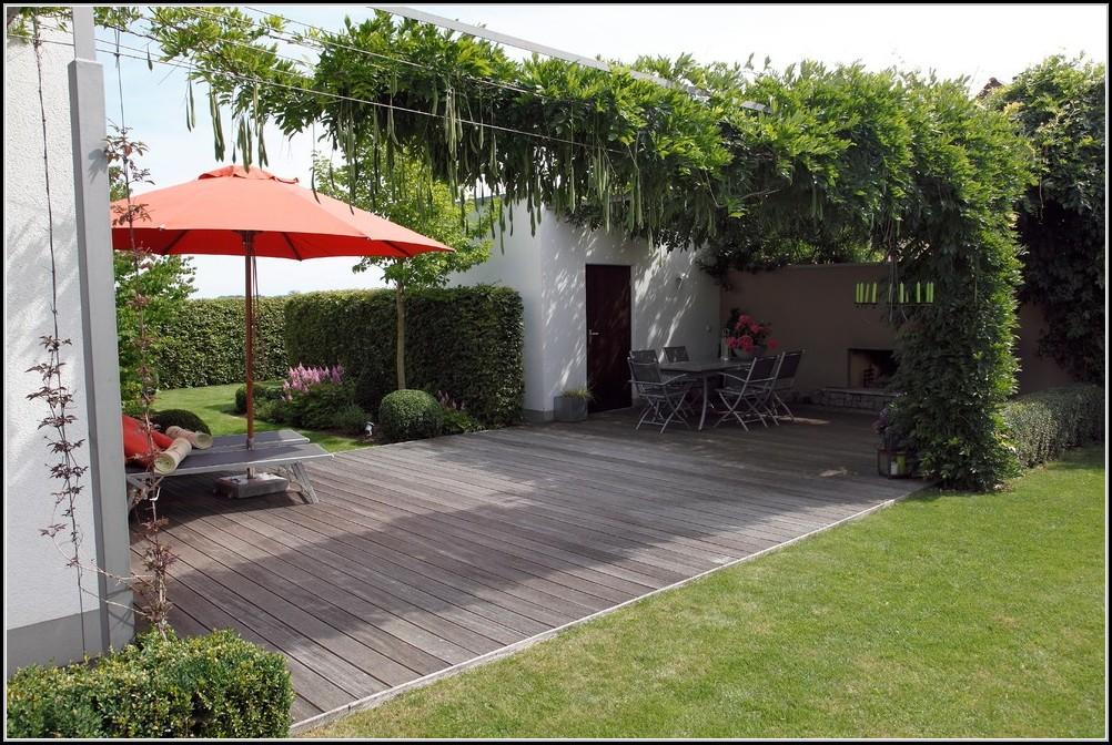 Kleiner garten mit terrasse gestalten garten house und for Kleine garten modern gestalten