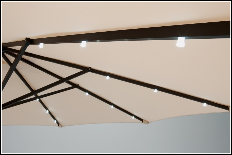 sonnenschirm mit beleuchtung beleuchthung house und dekor galerie qokbwlxwoe. Black Bedroom Furniture Sets. Home Design Ideas