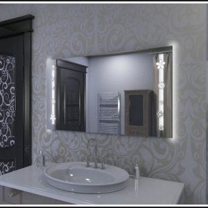 spiegel mit led beleuchtung und uhr beleuchthung house und dekor galerie qa1vlmbkbx. Black Bedroom Furniture Sets. Home Design Ideas